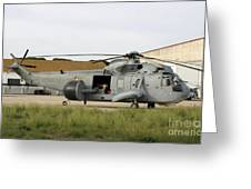 An Sh-3d Sea King Airborne Early Greeting Card