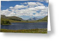 An Teallach From Loch Droma Greeting Card