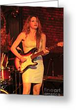 Guitarist Ana Popovic Greeting Card