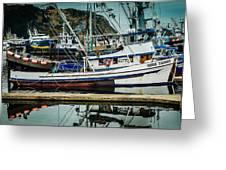 Anacortes Fishing Fleet Washington State Greeting Card