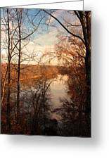 Anacostia River 6457 Greeting Card