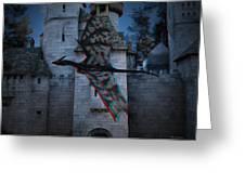 Anaglyph Dragon Greeting Card