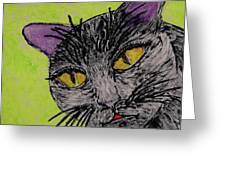 Anahs The Fairy Cat Greeting Card