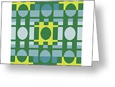 Analogous Color Harmony 1 Greeting Card