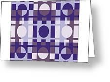 Analogous Color Harmony 4 Greeting Card