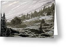 Anamis Forks Colorado Greeting Card
