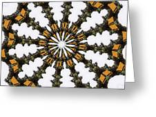 Ananasi Mandala Greeting Card
