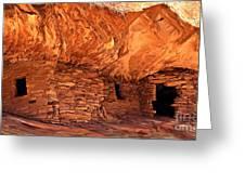 Anasazi  Cliff Dwelling Greeting Card