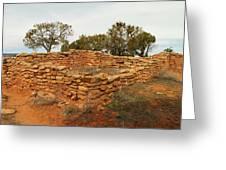 Anasazi Ruins Southern Utah Greeting Card