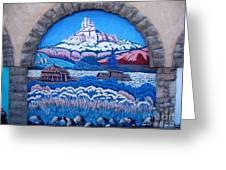 Anasazi Wall Art Greeting Card by Eva Kato