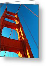 Anchor Of The Golden Gate Greeting Card