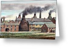 Anchor Road Pot Works Greeting Card