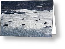 Anchorage Off Of Sausalito Greeting Card