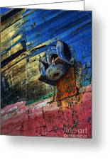 Anchored In Change Greeting Card