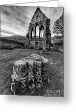 Ancient Abbey Greeting Card