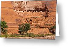 Ancient Anasazi Pueblo Canyon Dechelly Greeting Card