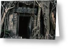 Ancient Angkor Cambodia Greeting Card