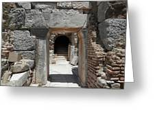 Ancient Arch Greeting Card