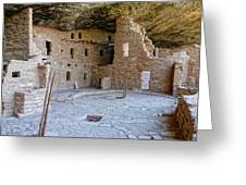 Ancient Architecture Greeting Card