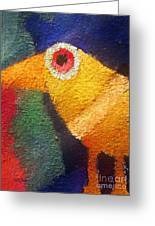 Ancient Bird Greeting Card
