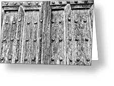 Ancient Church Door Greeting Card