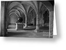 Ancient Cloisters. Greeting Card