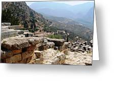 Ancient Delphi 20 Greeting Card
