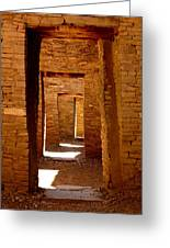 Ancient Galleries Greeting Card