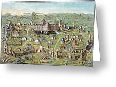 Ancient Jerusalem Greeting Card