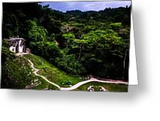 Ancient Maya Ruins Greeting Card