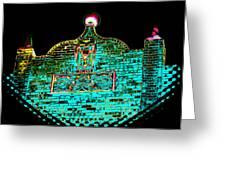 Ancient Morrocan Nights Greeting Card