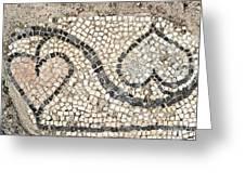 Ancient Mosaic Greeting Card