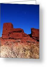 Ancient Pueblo Greeting Card