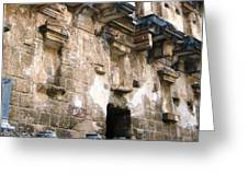 Ancient Roman Theater 4 Greeting Card