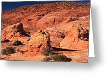 Ancient Sand Dunes Greeting Card