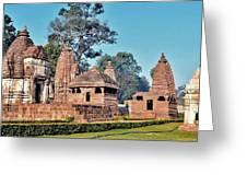 Ancient Temple Complex  - Amarkantak India Greeting Card