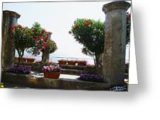 Ancient Town Of Ravello Italy Greeting Card