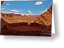 Ancient Viewpoint Greeting Card