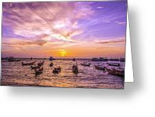 And Every Sunset Will Bring You That Much Nearer... Greeting Card