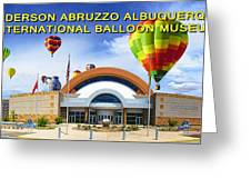 Anderson Abruzzo Albuquerque International Balloon Museum Poster Greeting Card