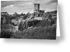 Andrade's Castle Galicia Spain Greeting Card