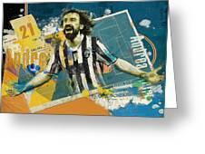 Andrea Pirlo - B Greeting Card