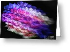 Anemone Abstract Greeting Card