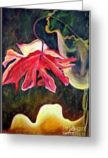 Anemone Me Greeting Card by Jolanta Anna Karolska