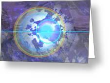 Angel Anathiel Detail Greeting Card