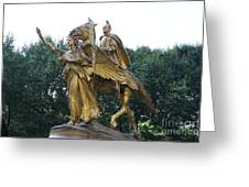 Angel And Tecumseh Sherman Greeting Card