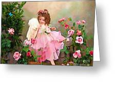 Angel And Baby  Greeting Card