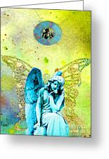 Angel Blessings 3 Greeting Card