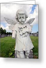 Angel Child Greeting Card