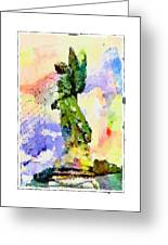 Angel Colors Greeting Card